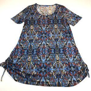 Aster by Firmiana Tunic Top Size 1X Ruched Sides
